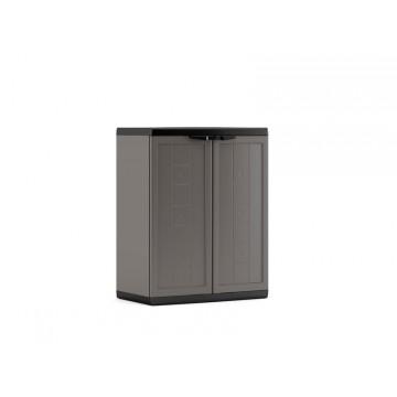 Armadio plastica Jolly Basso grigio -  68 x 39 x 85 h