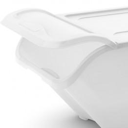 Contenitori per la raccolta differenziata All in Box XL 54,5 x 38,5 x 45,5 Bianco (4 pezzi)