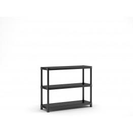 Scaffalatura Bassa Plus Shelf 120/3 Scaffale 3 ripiani 120x40x100h