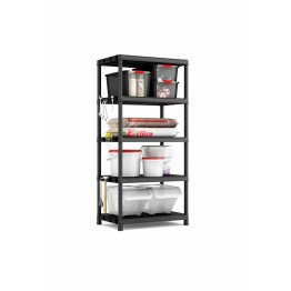 Scaffalatura Plus Shelf XL/5 Scaffale con 5 ripiani 90 x 60 x 187 h