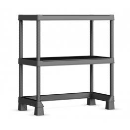Scaffalatura Plus Shelf Open Base Mini Scaffale con ripiani regolabili 90x45x97h