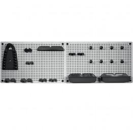 Griglia porta attrezzi oggetti (2x) 50 x 7 x 31 h