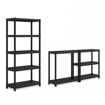 Scaffalatura Plus Shelf 90/40/5 Scaffale 5 ripiani