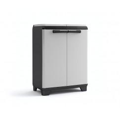 Mobile da esterno per la raccolta differenziata Split Recycling Premium 68 x 39 x 92 h grigio