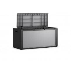 Baule cassone grigio plastica impermeabile TITAN chest