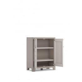 Armadio plastica EVO.CA. GULLIVER basso XL sabbia