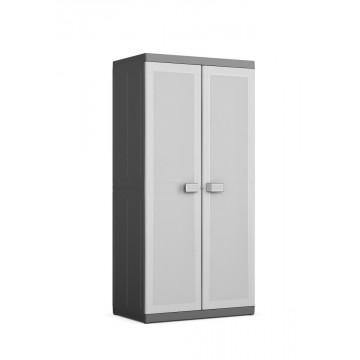 Armadio plastica grigio LOGICO XL alto